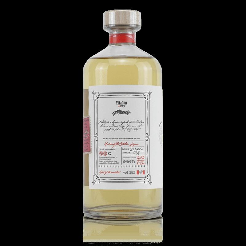 Liquore al limone e rosmarino | Pach Drinks