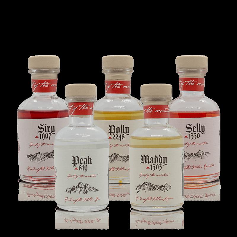 Tasting set distillati   Pach Drinks